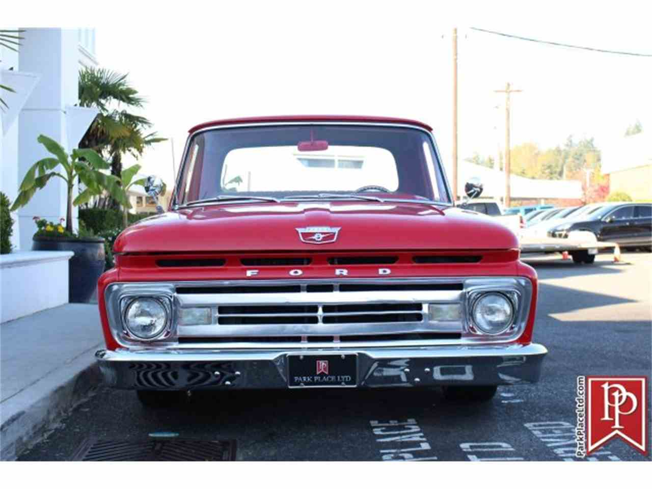 Large Picture of 1962 F100 located in Washington - $37,950.00 Offered by Park Place Ltd - M9YH