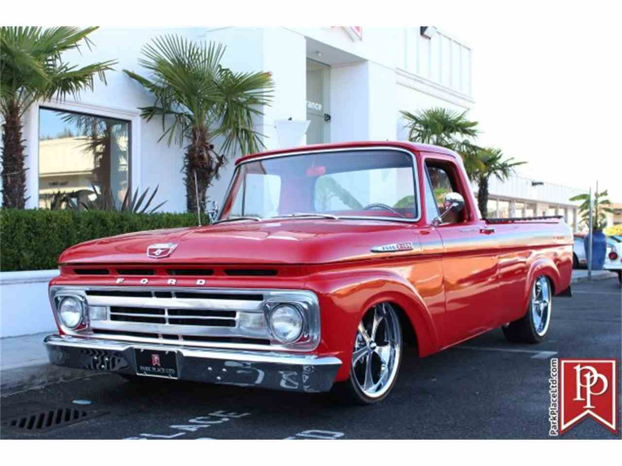Large Picture of 1962 Ford F100 located in Bellevue Washington - $37,950.00 Offered by Park Place Ltd - M9YH