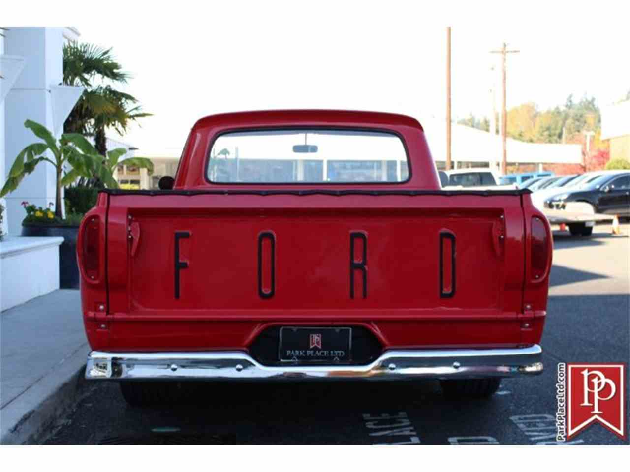 Large Picture of Classic 1962 F100 located in Bellevue Washington - $37,950.00 Offered by Park Place Ltd - M9YH