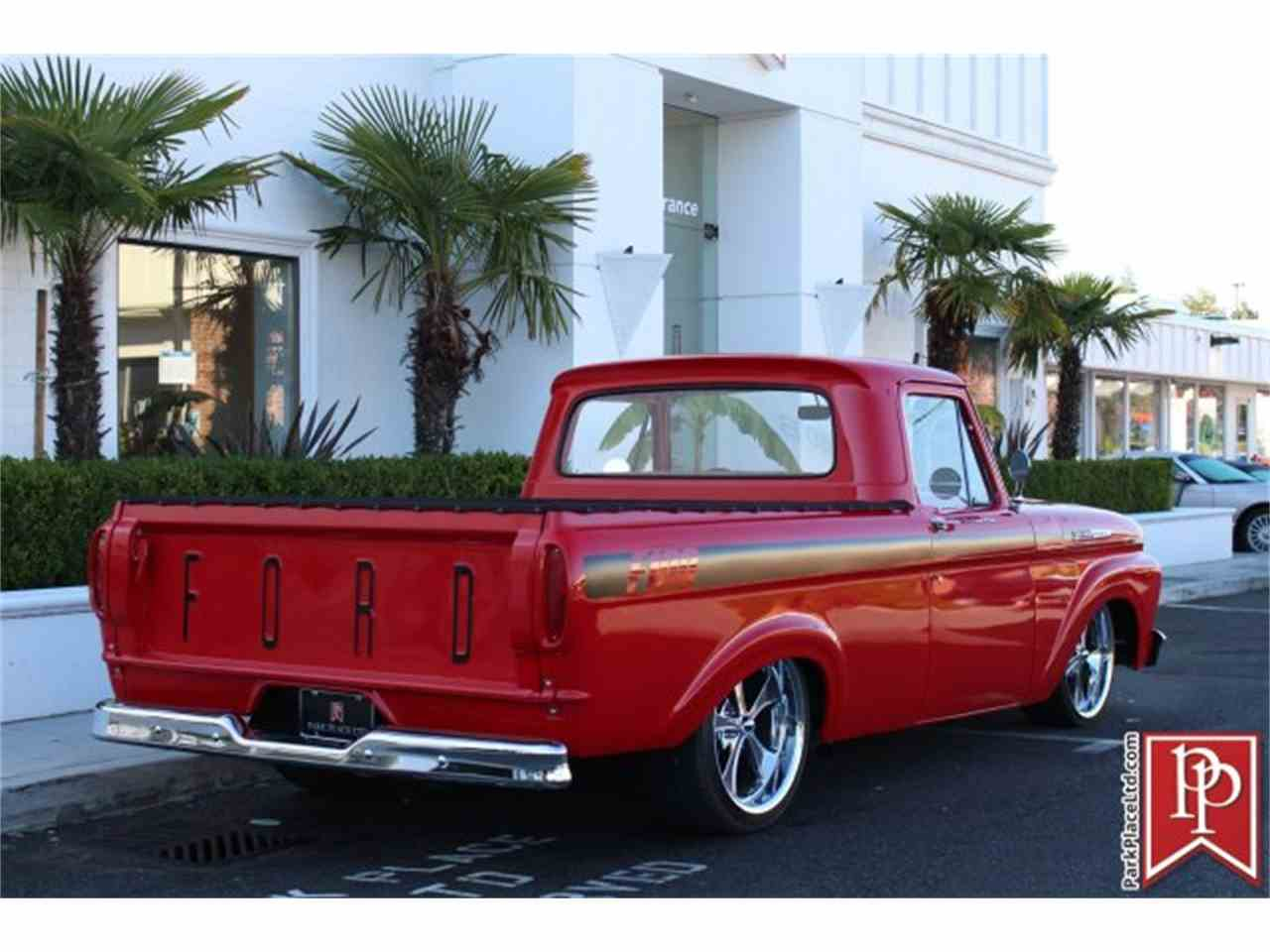 Large Picture of 1962 Ford F100 located in Washington Offered by Park Place Ltd - M9YH