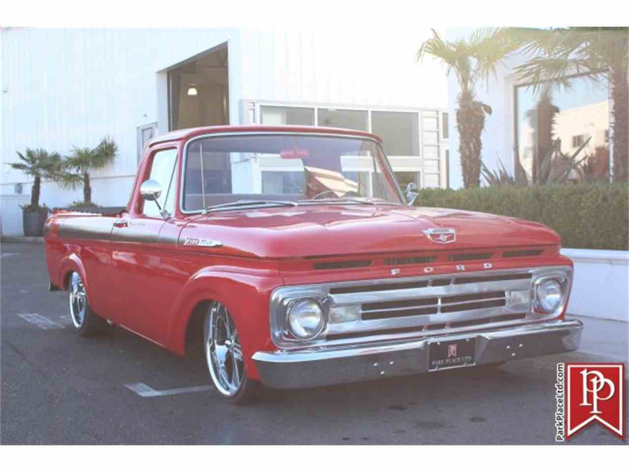 Large Picture of Classic 1962 Ford F100 located in Bellevue Washington - M9YH