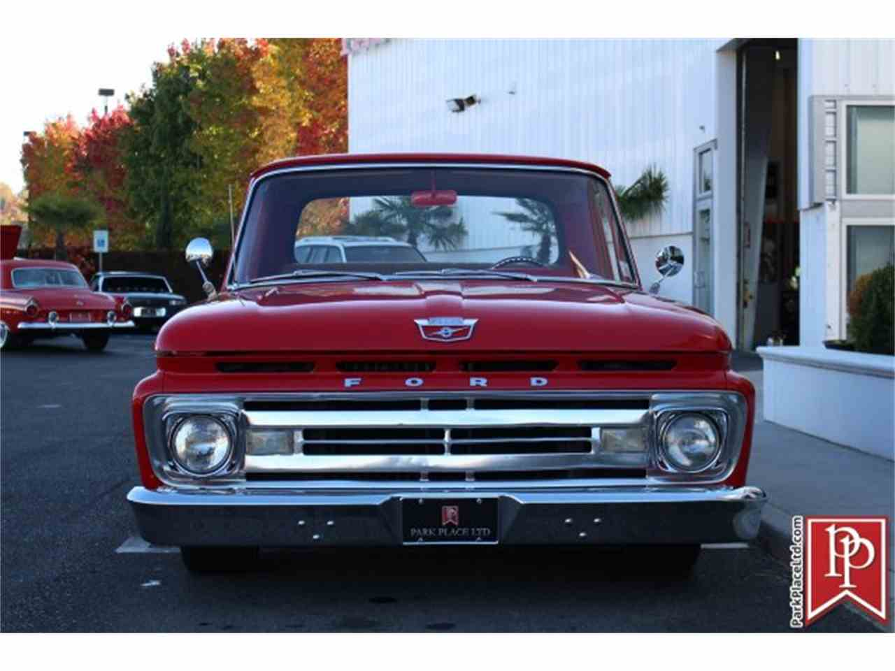 Large Picture of '62 Ford F100 located in Bellevue Washington - $37,950.00 Offered by Park Place Ltd - M9YH