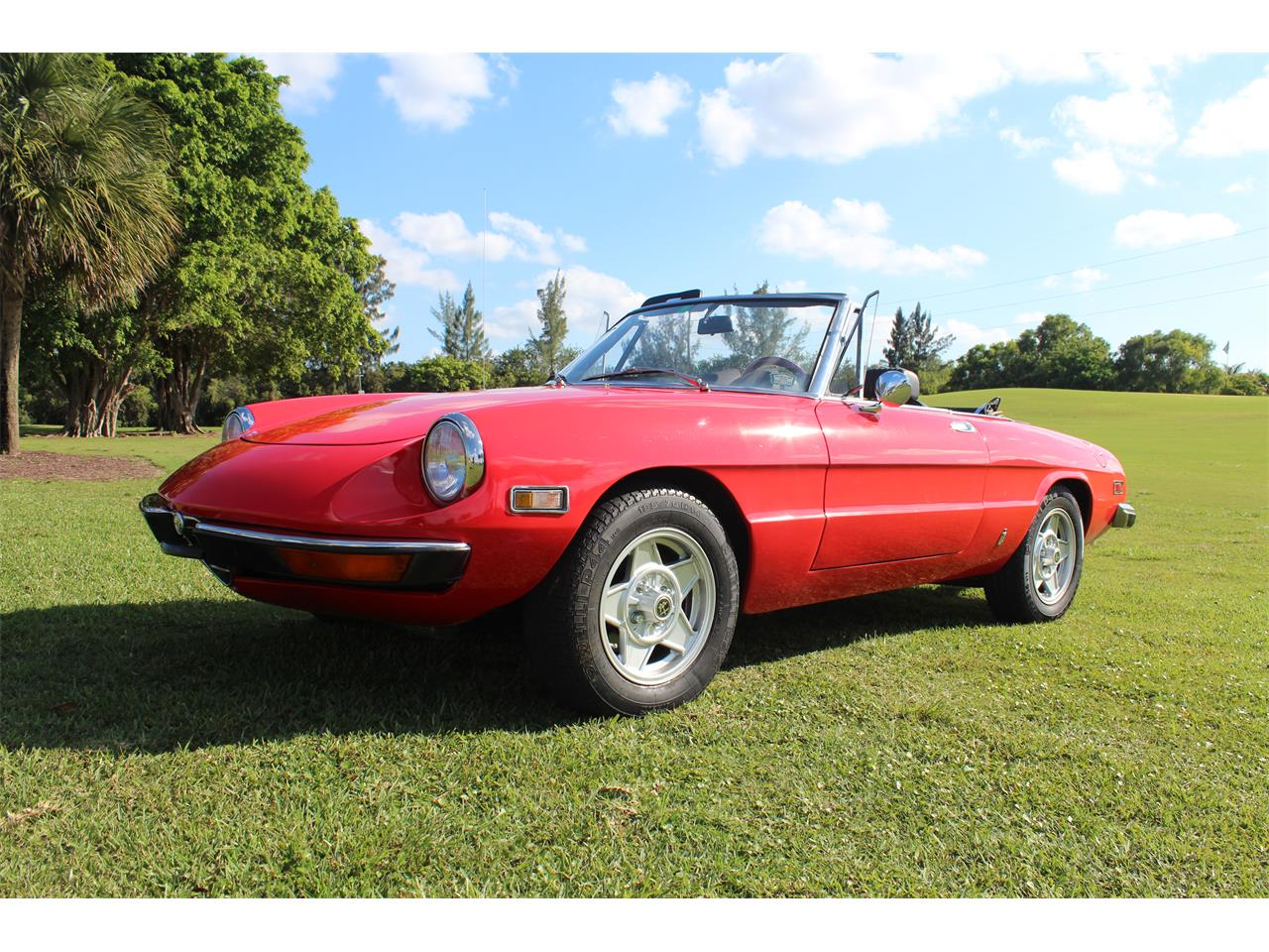 Large Picture of Classic '71 Alfa Romeo Spider located in Florida Offered by a Private Seller - MA2U