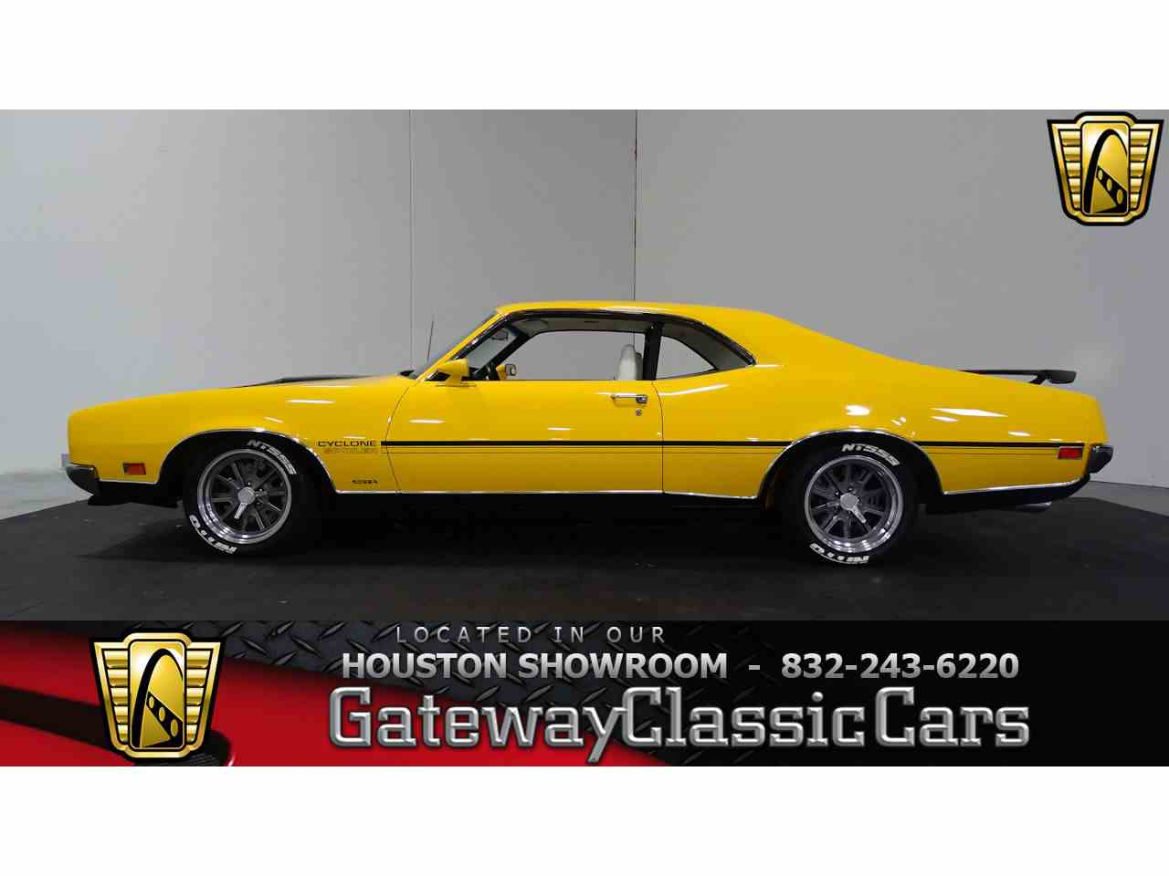 Large Picture of '70 Mercury Cyclone located in Houston Texas Offered by Gateway Classic Cars - Houston - MA58