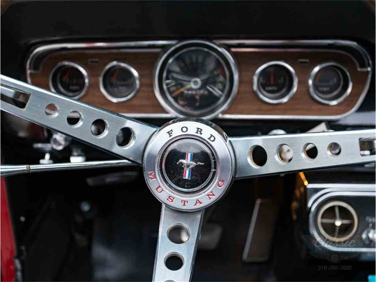 Large Picture of 1966 Ford Mustang located in Cedar Rapids Iowa Offered by Duffy's Classic Cars - MA5N