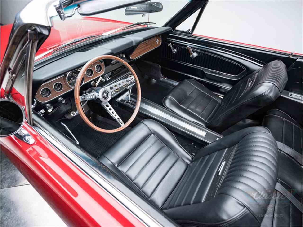 Large Picture of Classic '66 Ford Mustang located in Iowa Offered by Duffy's Classic Cars - MA5N