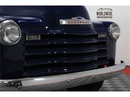 Picture of '50 Chevrolet 3100 located in Denver  Colorado Offered by Worldwide Vintage Autos - MA6M
