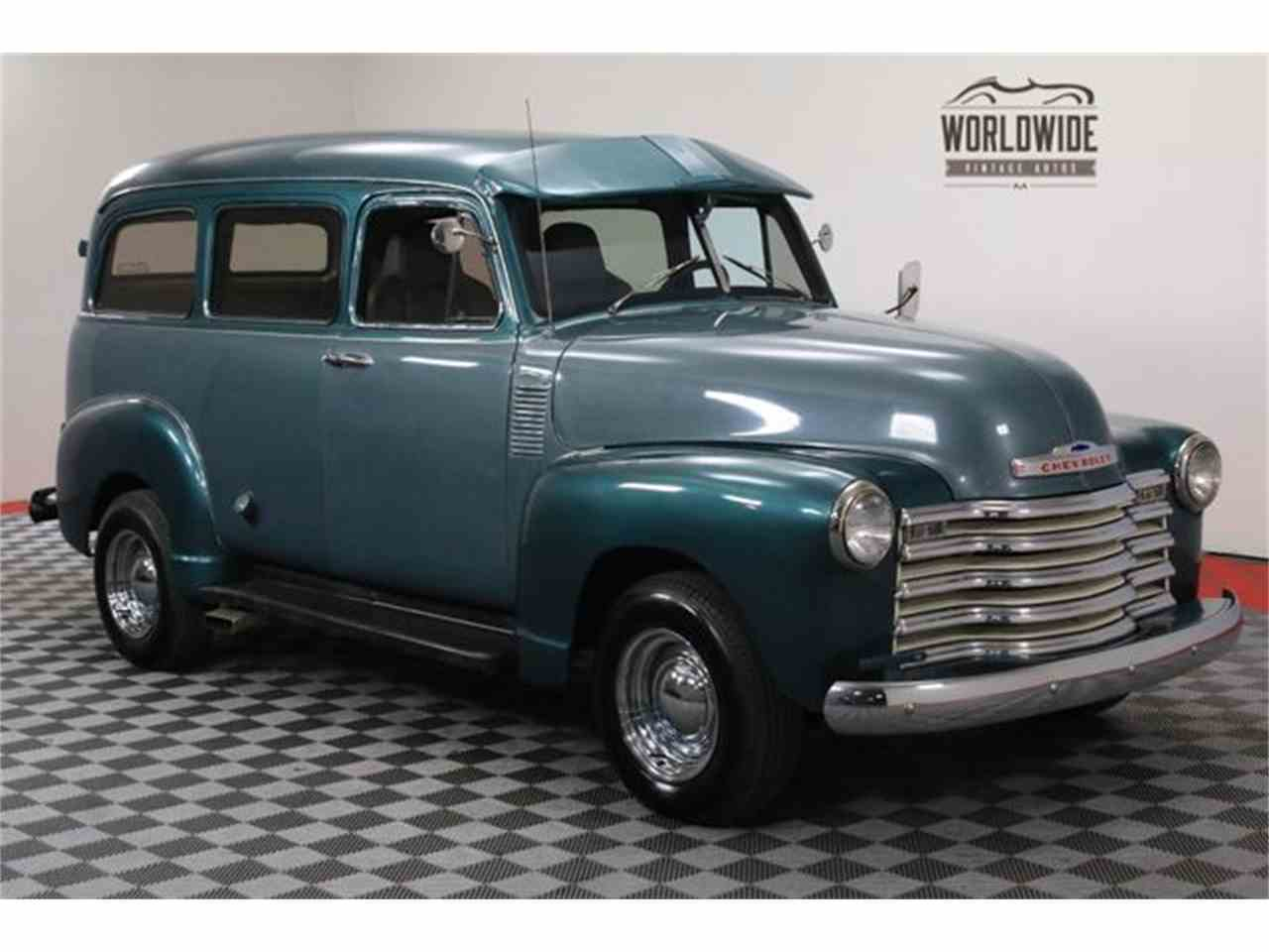 Large Picture of '53 Suburban - MA6R
