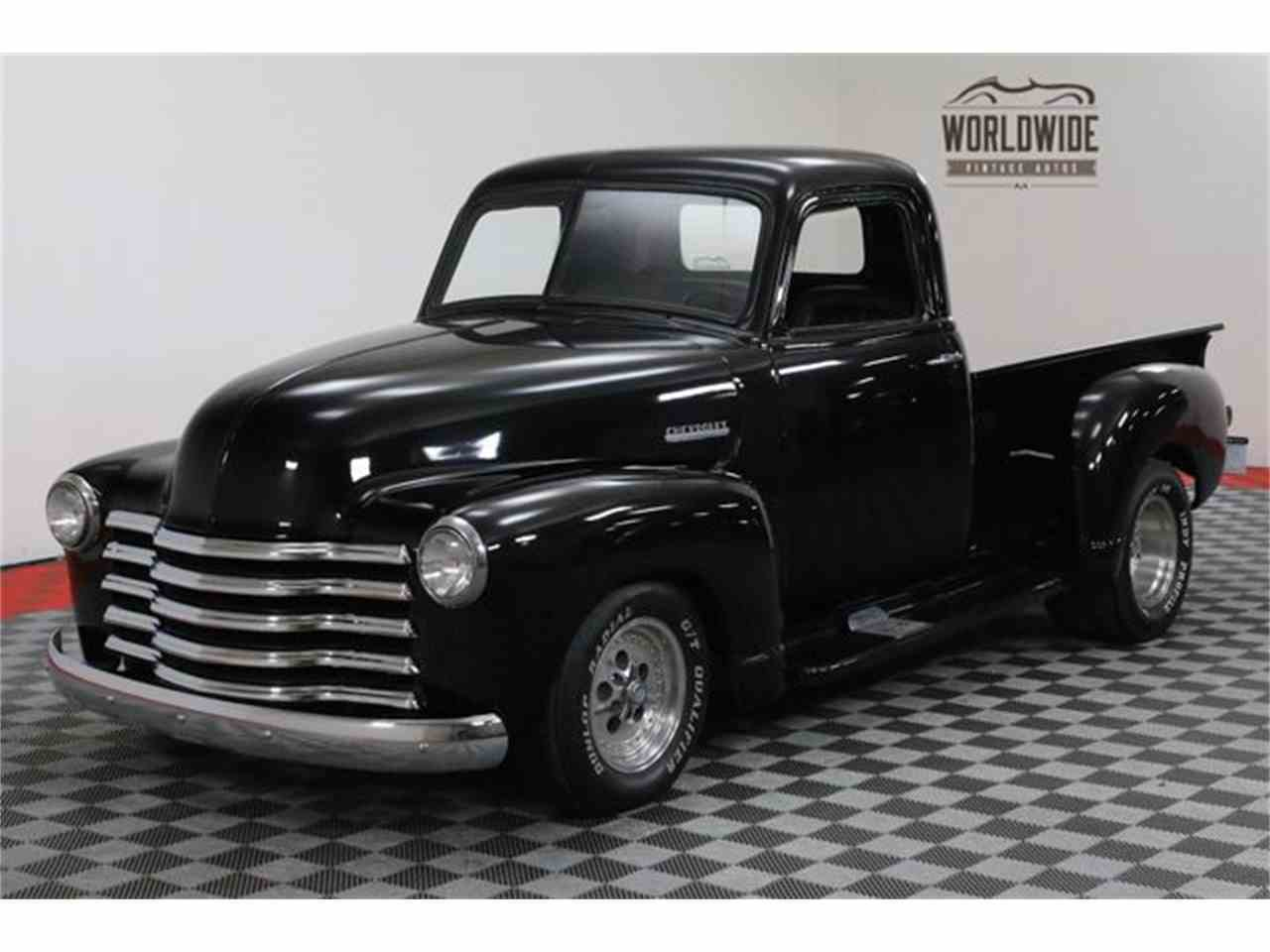 Large Picture of 1952 Chevrolet 3100 located in Denver  Colorado - $18,900.00 Offered by Worldwide Vintage Autos - MA73