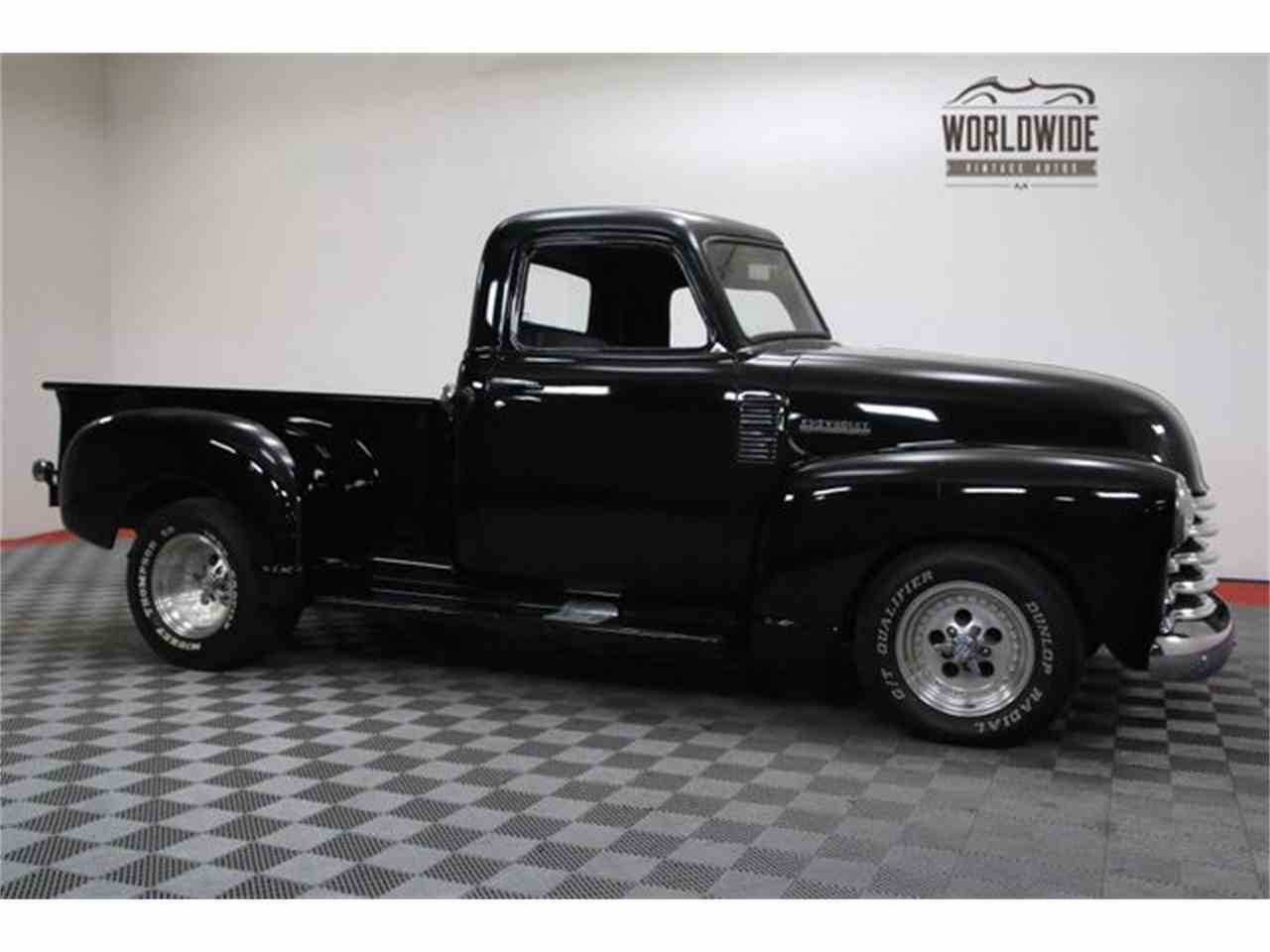 Large Picture of Classic 1952 Chevrolet 3100 located in Denver  Colorado - $18,900.00 Offered by Worldwide Vintage Autos - MA73