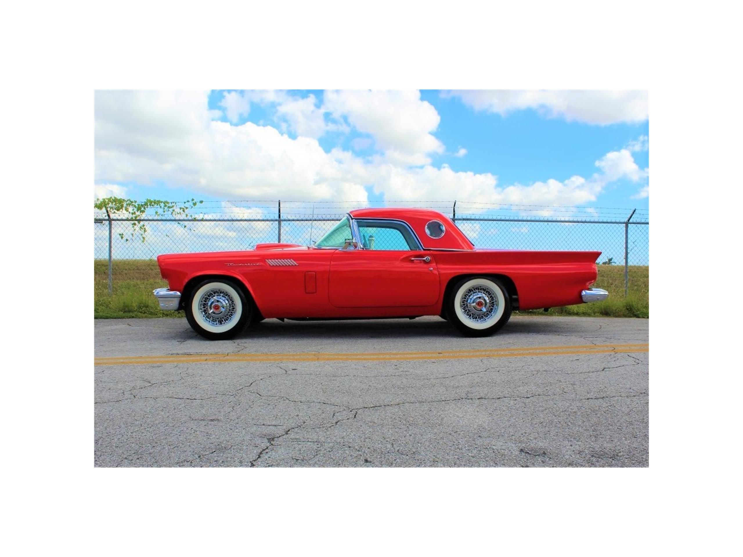 1957 ford thunderbird for sale classiccars cc 1039690 large picture of 57 thunderbird ma8a publicscrutiny Images