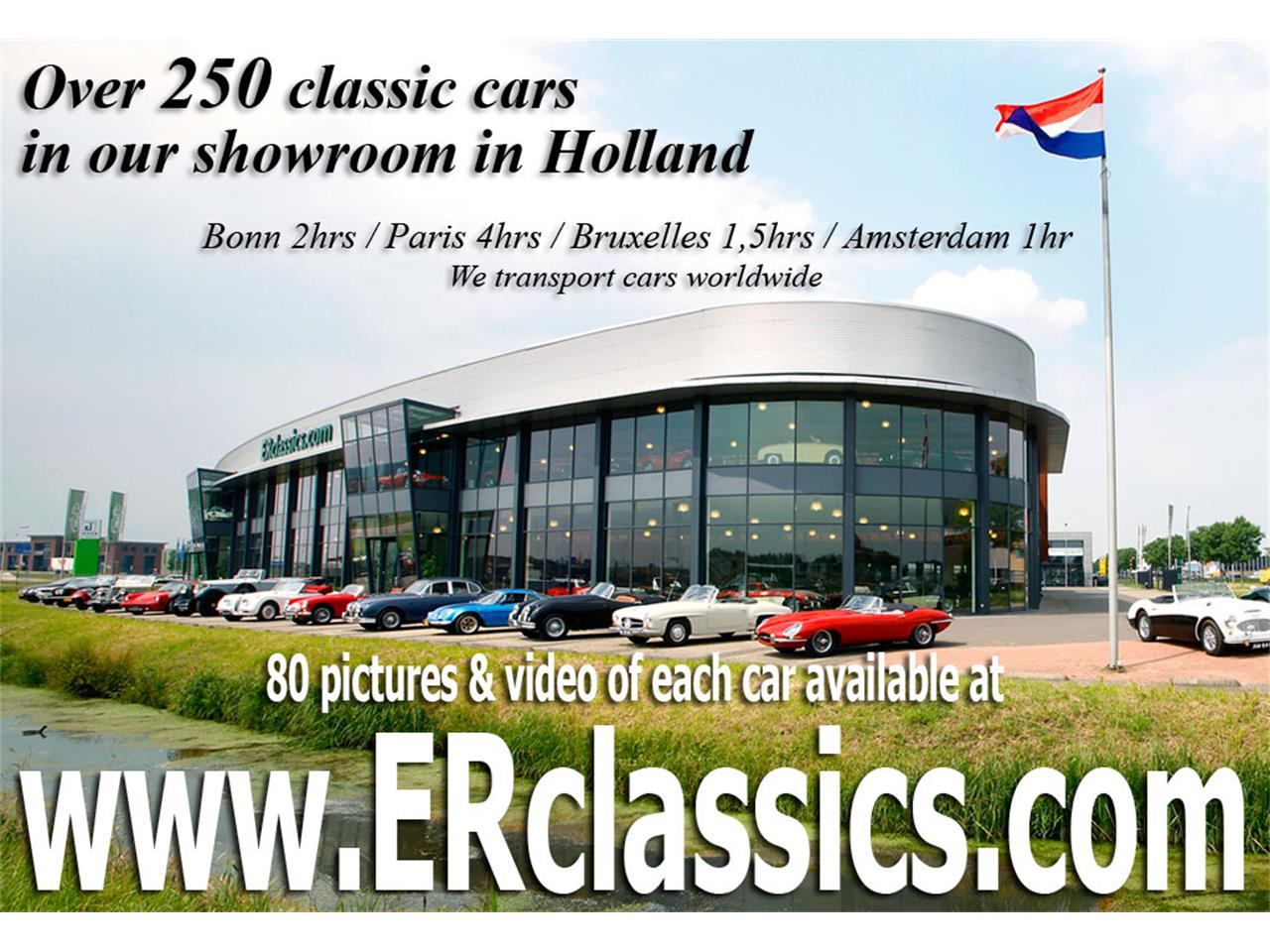 Large Picture of '54 XK120 located in Waalwijk Noord Brabant Offered by E & R Classics - MA9M