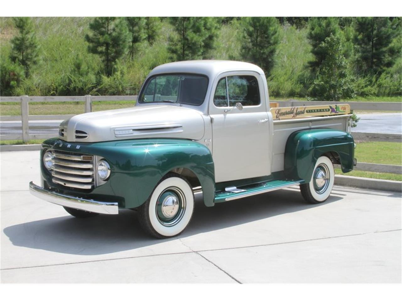 Large Picture of Classic 1949 Ford F1 located in Vero Beach Florida - $51,900.00 - MAJX