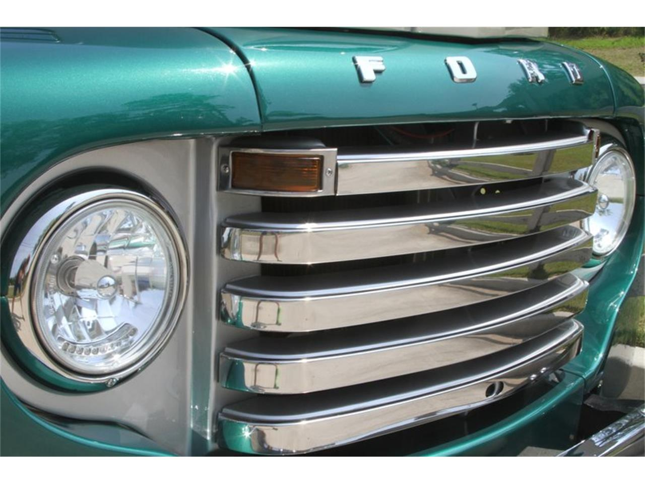 Large Picture of 1949 Ford F1 located in Vero Beach Florida Offered by Motor City Classic Cars - MAJX