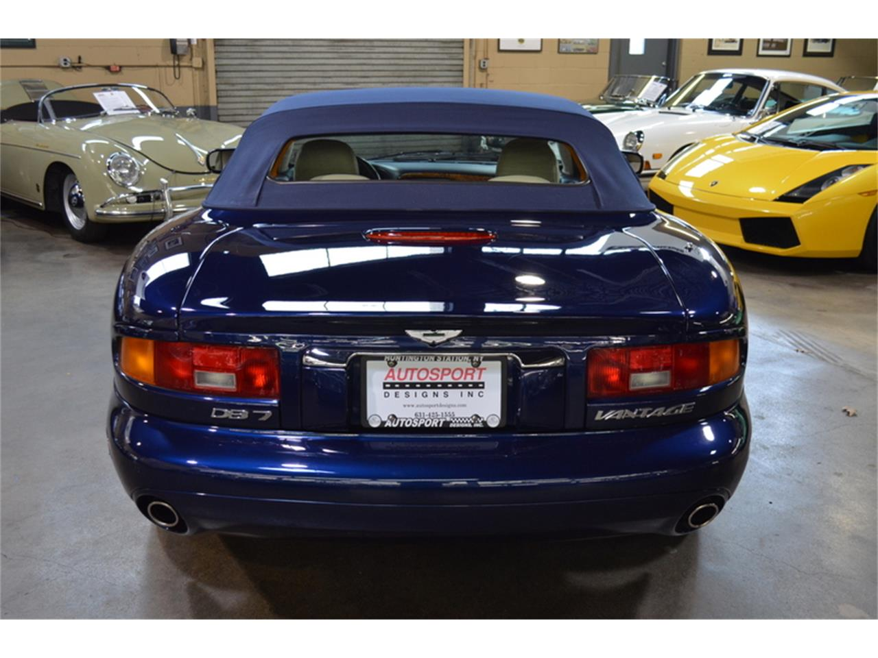 Large Picture of '02 Aston Martin DB7 Vantage Volante located in New York - $39,500.00 - MBES