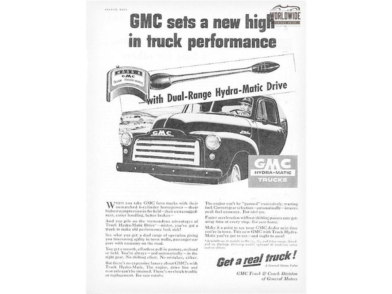 Large Picture of 1953 GMC Pickup located in Colorado Offered by Worldwide Vintage Autos - MBI2