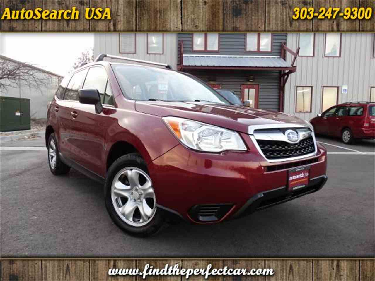 Large Picture of '14 Forester - MBIA