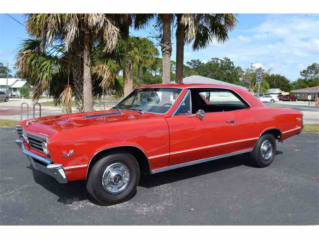 Picture of Classic 1967 Chevrolet Chevelle SS Offered by Velvet Hammer Motorcars - MBIQ
