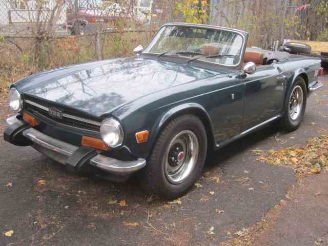 Picture of '74 TR6 - MBK0
