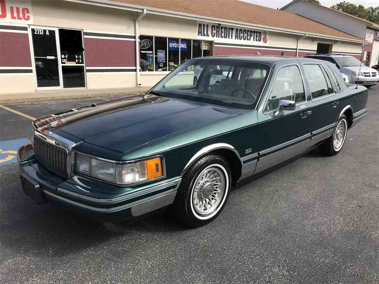1993 Lincoln Town Car Electrical