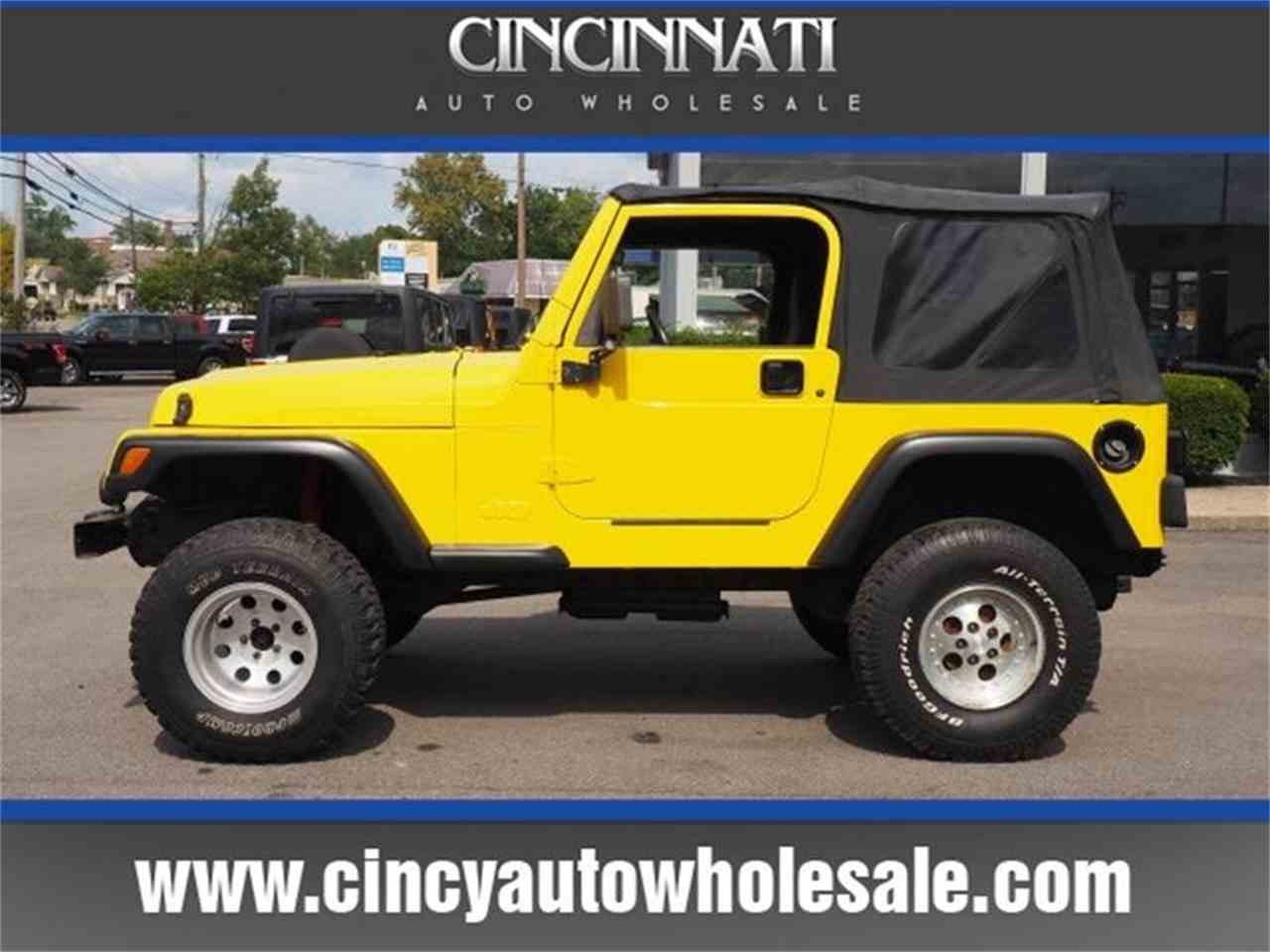 Large Picture of 2000 Wrangler located in Loveland Ohio Offered by Cincinnati Auto Wholesale - MBLA