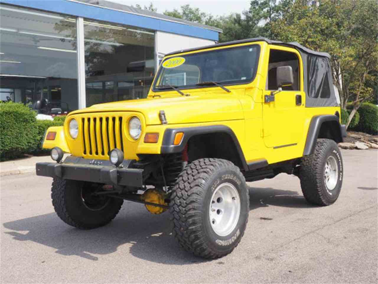 Large Picture of '00 Wrangler located in Ohio - $6,995.00 - MBLA