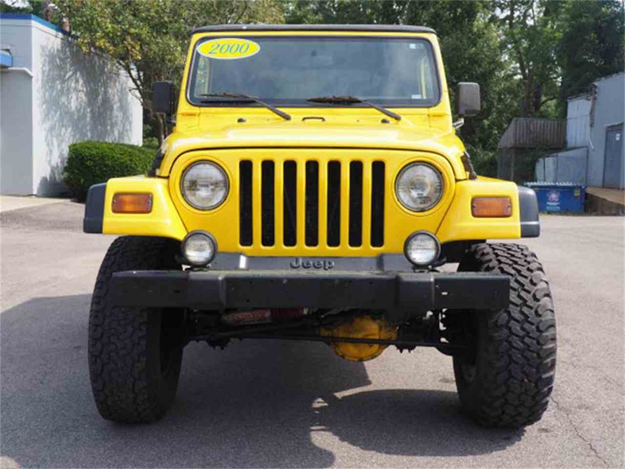 Large Picture of 2000 Wrangler located in Ohio Offered by Cincinnati Auto Wholesale - MBLA