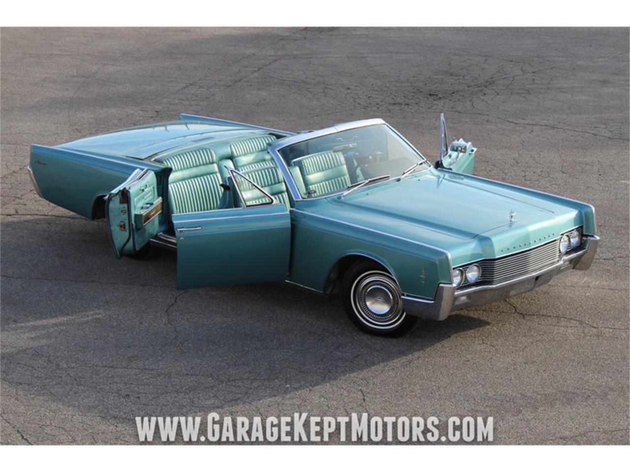 1966 Lincoln Continental 4 Door Convertible For Sale Classiccars