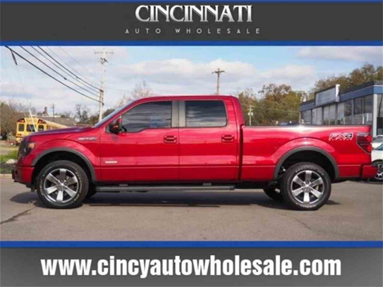 Large Picture of '14 Ford F150 located in Ohio Offered by Cincinnati Auto Wholesale - MBNX