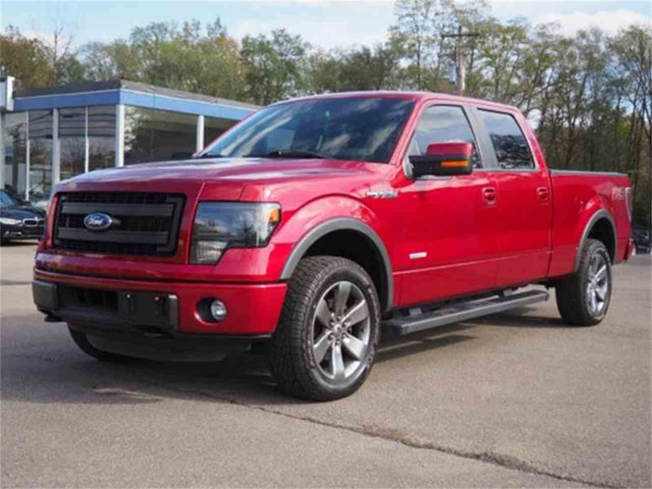 Large Picture of '14 F150 located in Loveland Ohio - MBNX