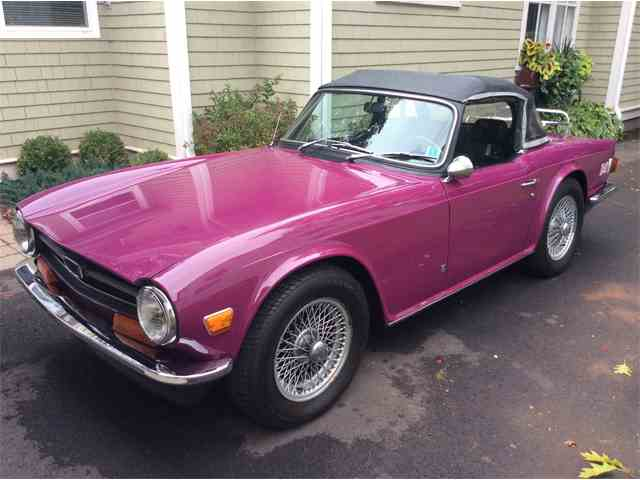 Picture of '73 TR6 - MBPP