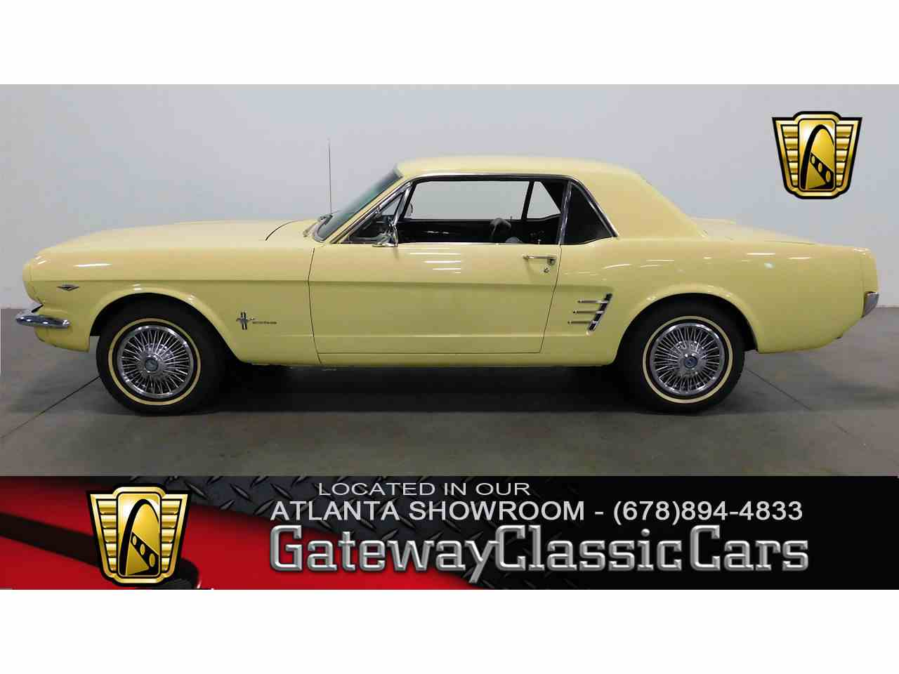 Large Picture of Classic '66 Ford Mustang located in Georgia - $19,995.00 Offered by Gateway Classic Cars - Atlanta - MBRW