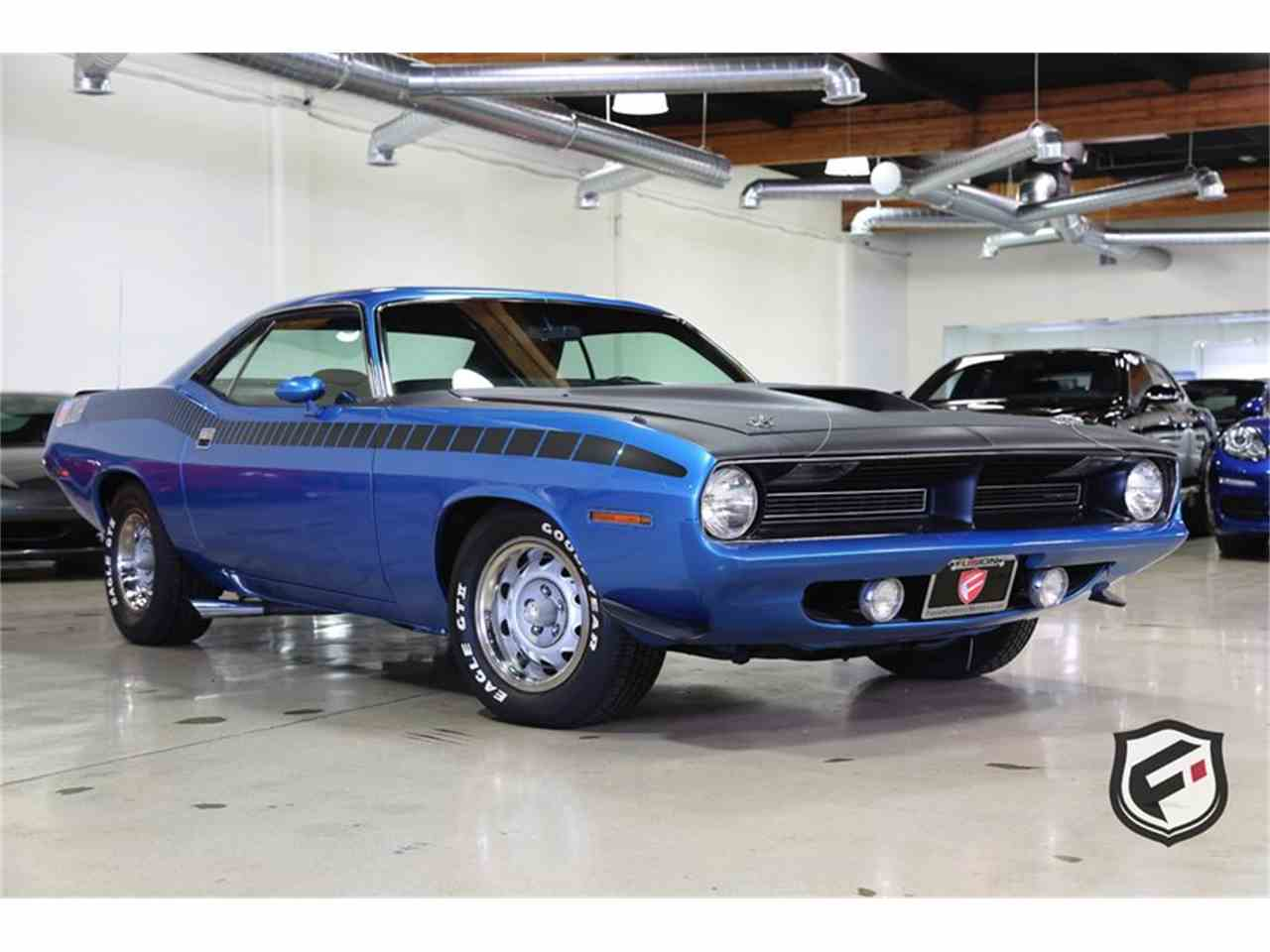 Large Picture of 1970 Plymouth Cuda Offered by Fusion Luxury Motors - MBSH