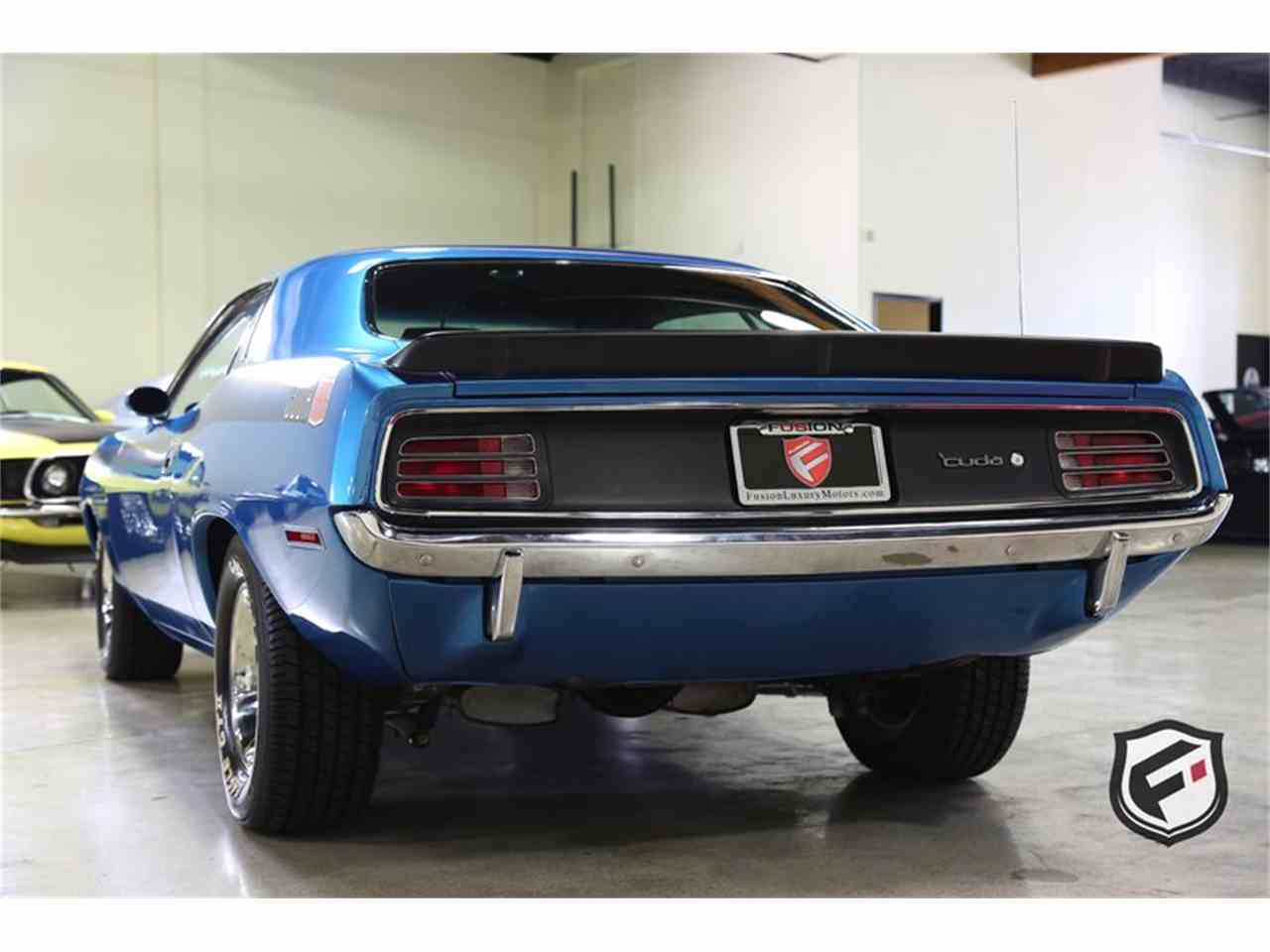 Large Picture of Classic 1970 Plymouth Cuda located in Chatsworth California Offered by Fusion Luxury Motors - MBSH