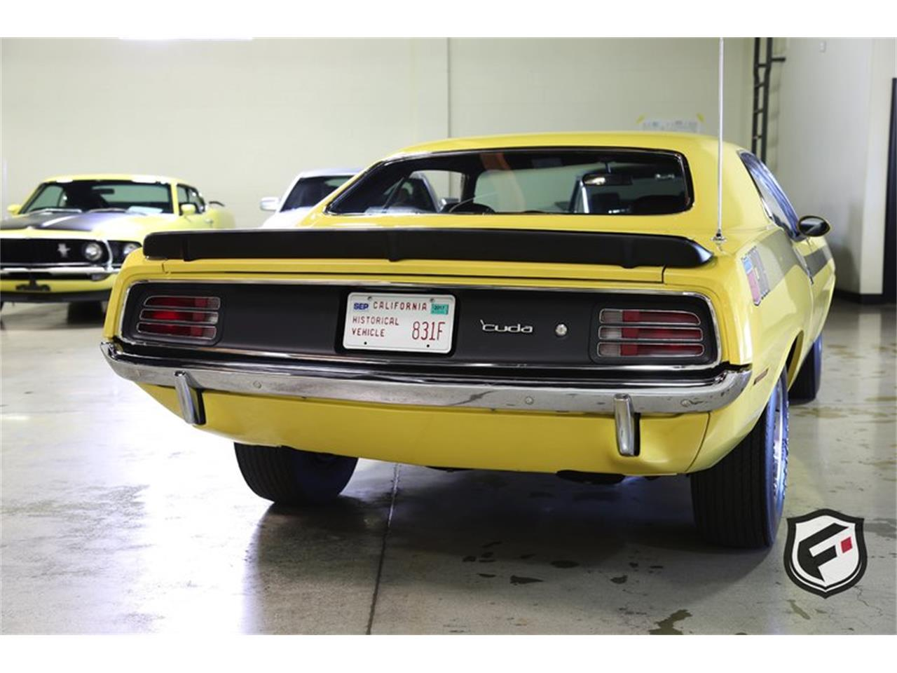 Large Picture of Classic 1970 Plymouth Cuda located in California Offered by Fusion Luxury Motors - MBSV
