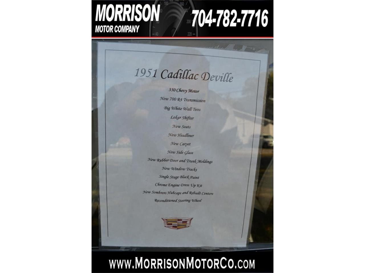 Large Picture of Classic '51 DeVille Offered by Morrison Motor Company - MBTG