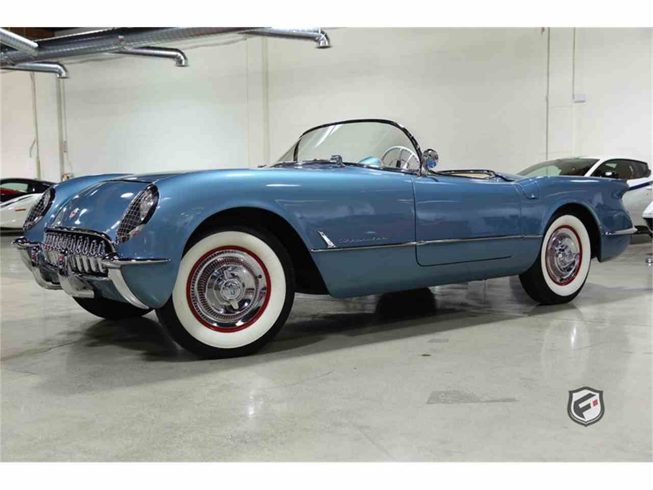 Large Picture of Classic '54 Chevrolet Corvette Offered by Fusion Luxury Motors - MBTQ