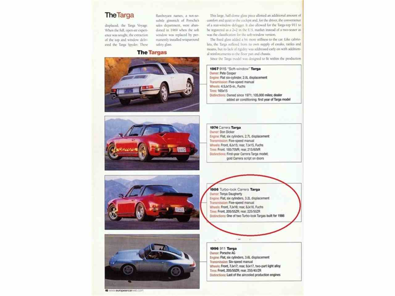 Large Picture of 1986 Porsche 911 located in Big Bend Wisconsin Auction Vehicle - MBV8