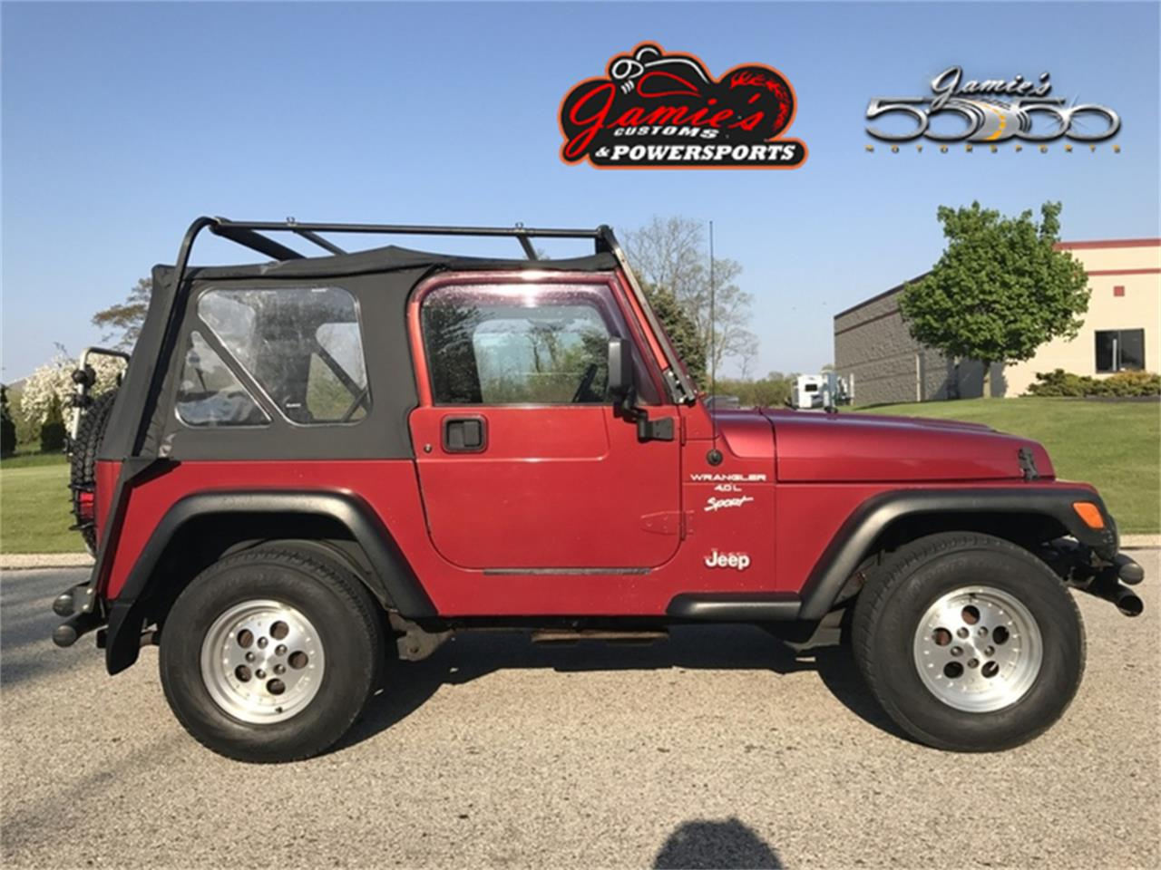 Large Picture of '02 Wrangler located in Wisconsin Offered by Jamie's 50/50 Motorsports - MBVH
