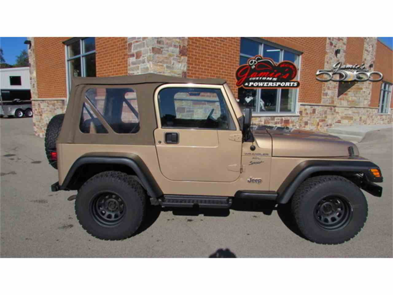 Large Picture of '02 Wrangler - MBVH