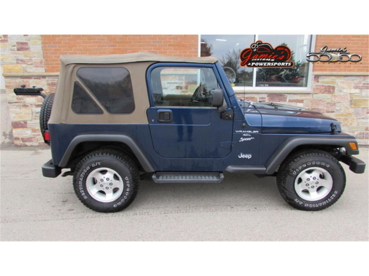 Large Picture of '02 Wrangler Offered by Jamie's 50/50 Motorsports - MBVH