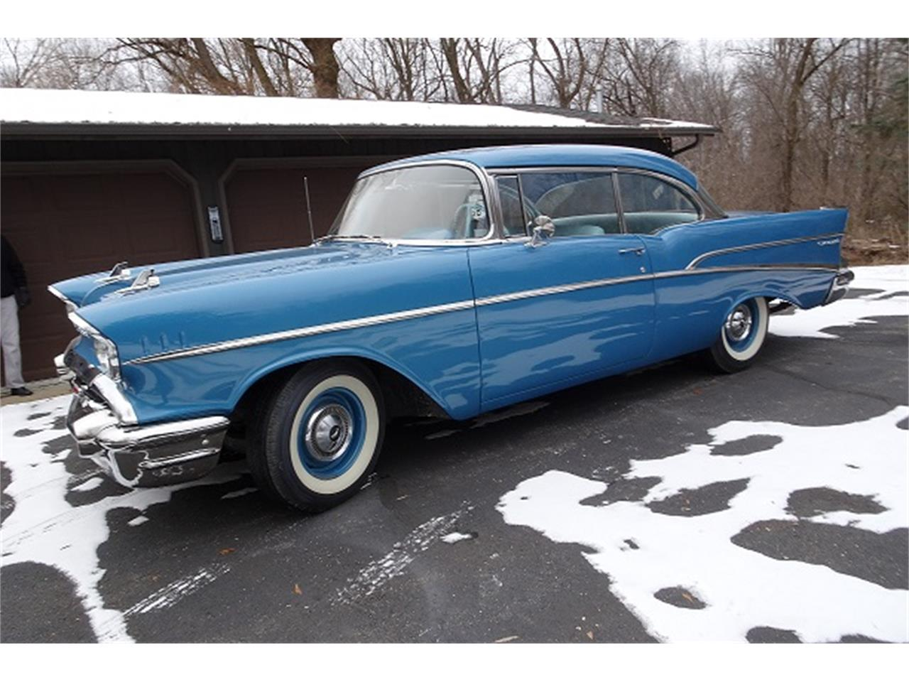 Large Picture of Classic '57 Chevrolet 210 located in Dodge Center Minnesota Offered by McGeorge Classics - MBW3