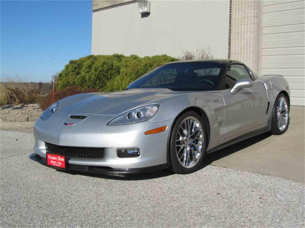 2009 chevrolet corvette zr1 for sale cc 1041852. Black Bedroom Furniture Sets. Home Design Ideas