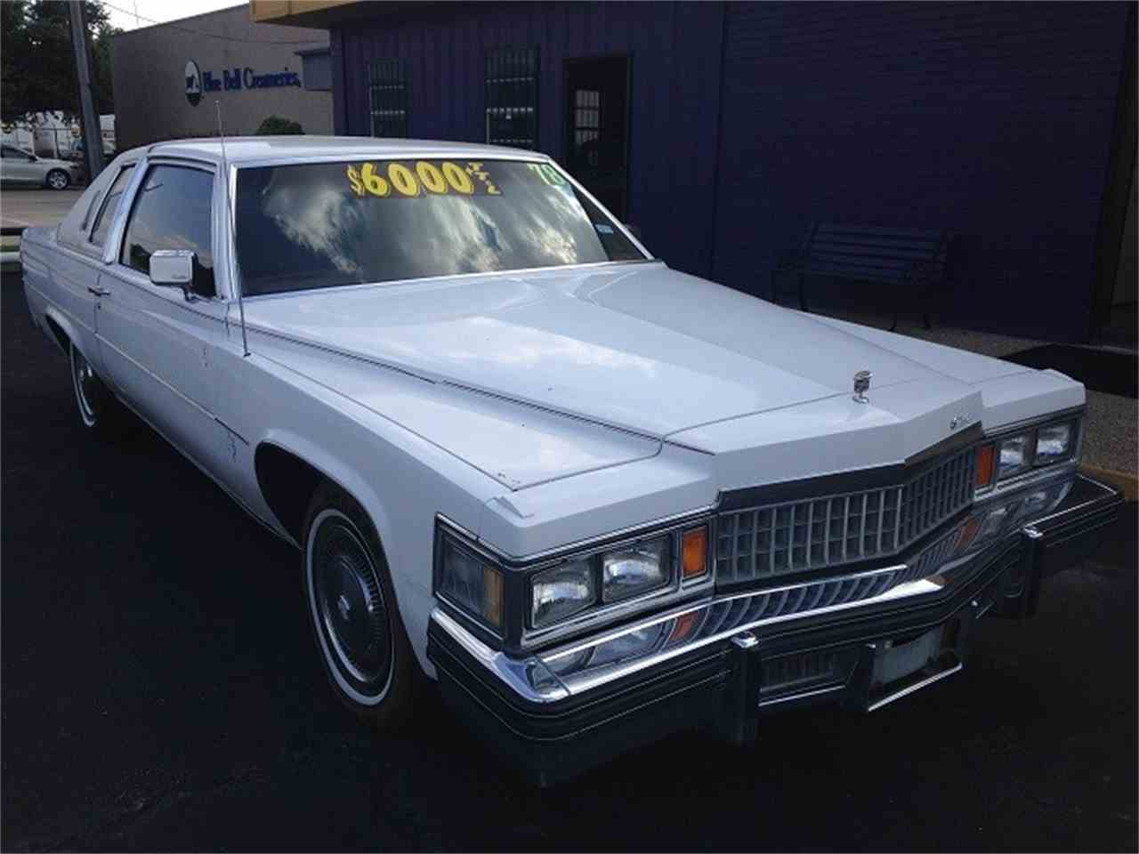 1978 Cadillac Coupe DeVille for Sale | ClicCars.com | CC-1042137