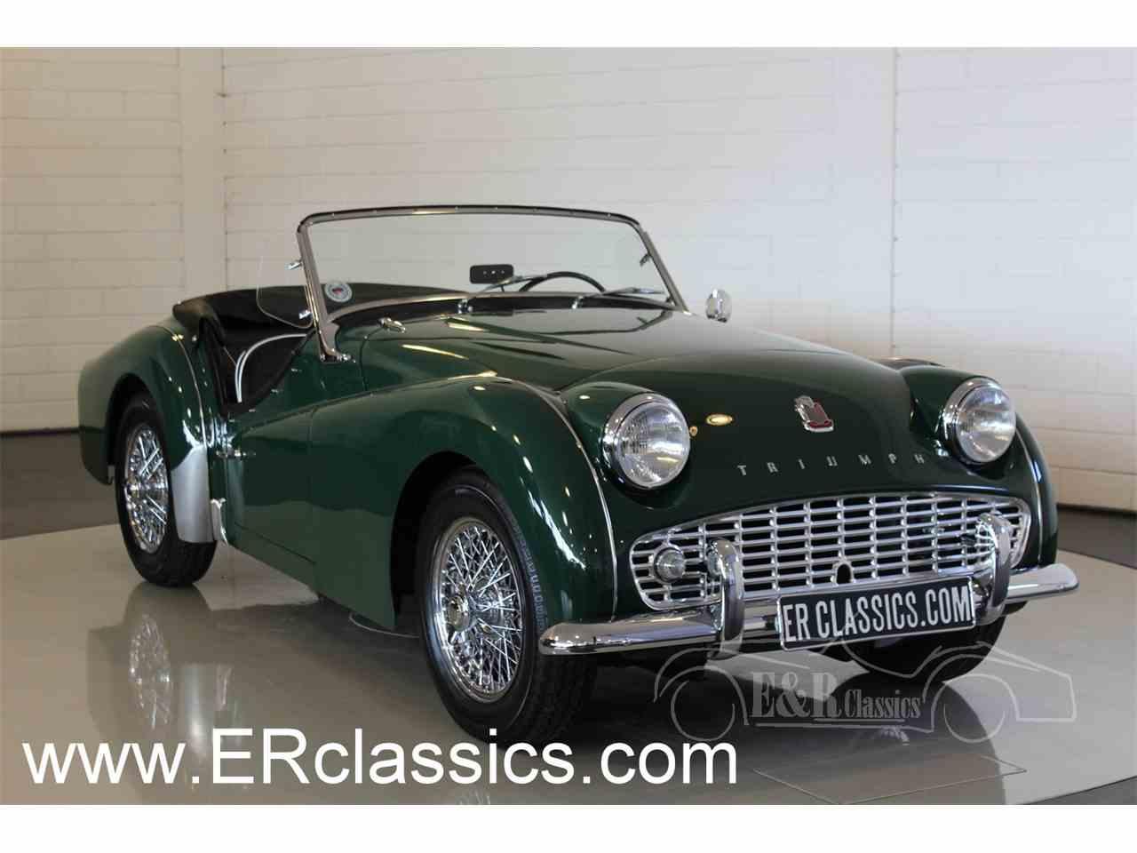 1958 Triumph TR3A for Sale | ClassicCars.com | CC-1042142