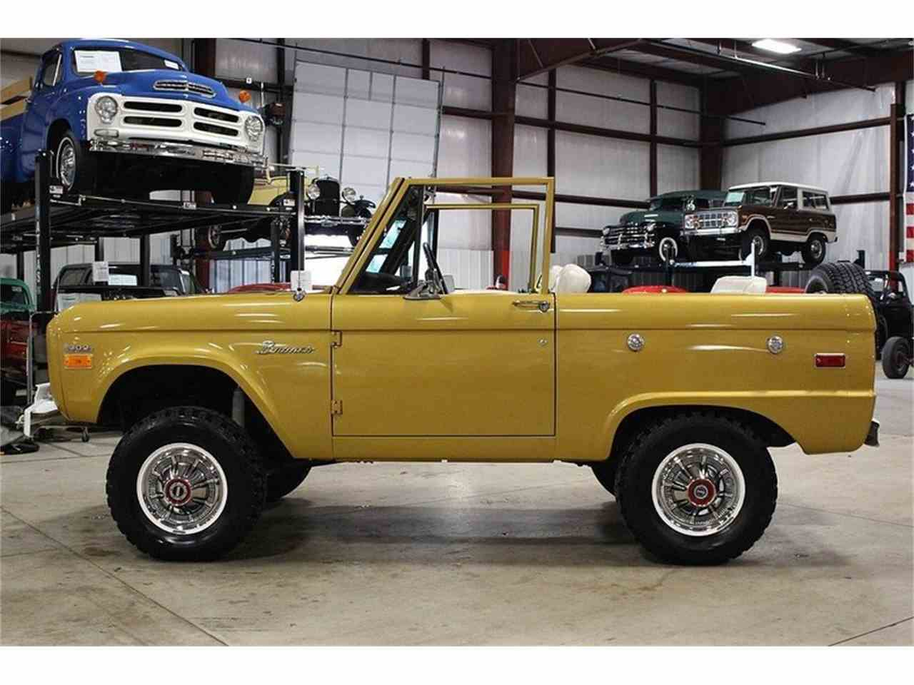 Large Picture of Classic 1970 Ford Bronco located in Michigan Offered by GR Auto Gallery - MC75