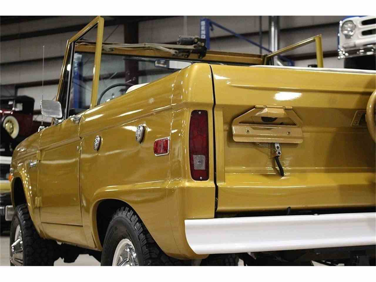 Large Picture of Classic 1970 Ford Bronco located in Michigan - MC75