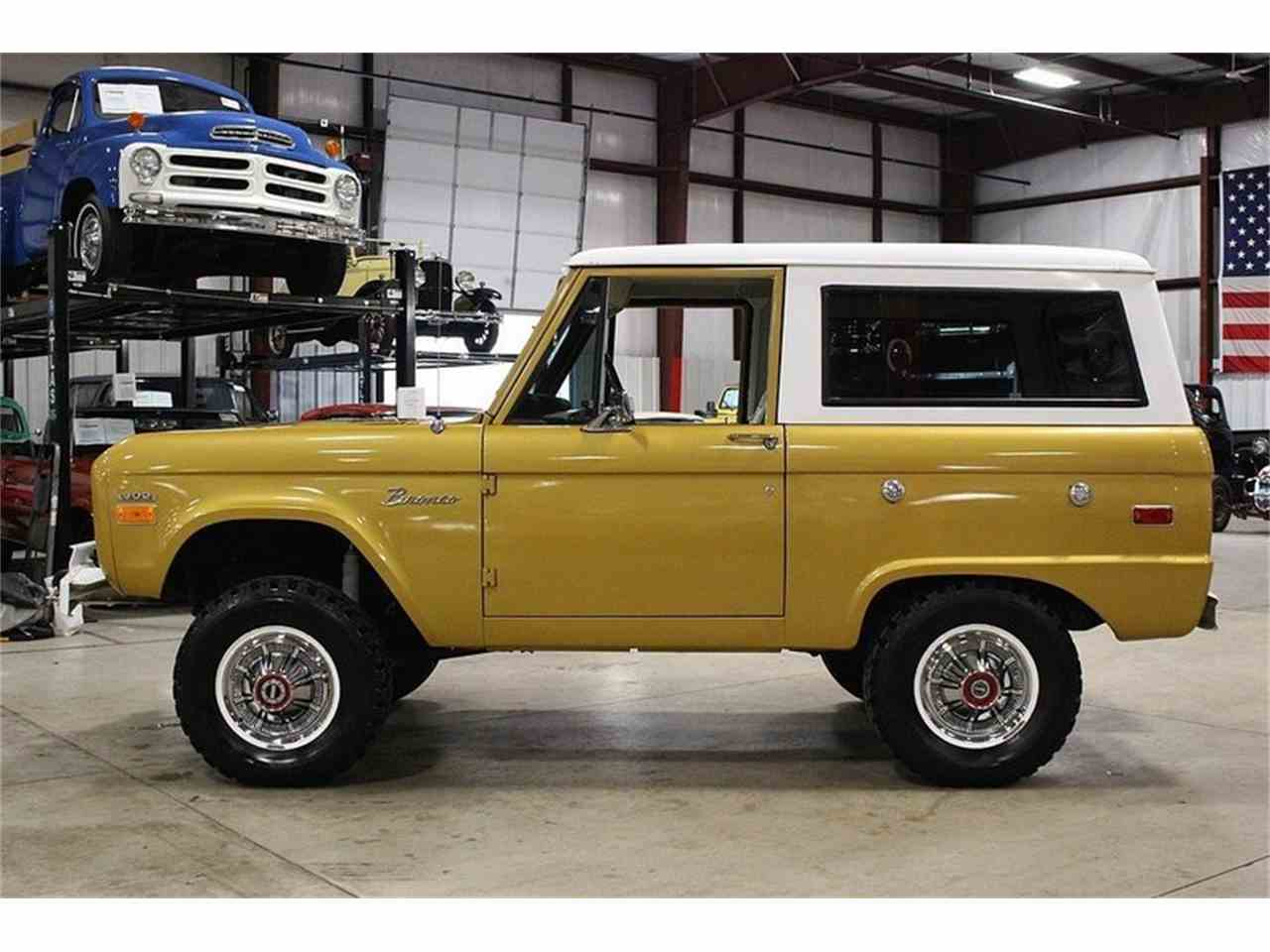 Large Picture of 1970 Bronco located in Kentwood Michigan - $39,900.00 Offered by GR Auto Gallery - MC75