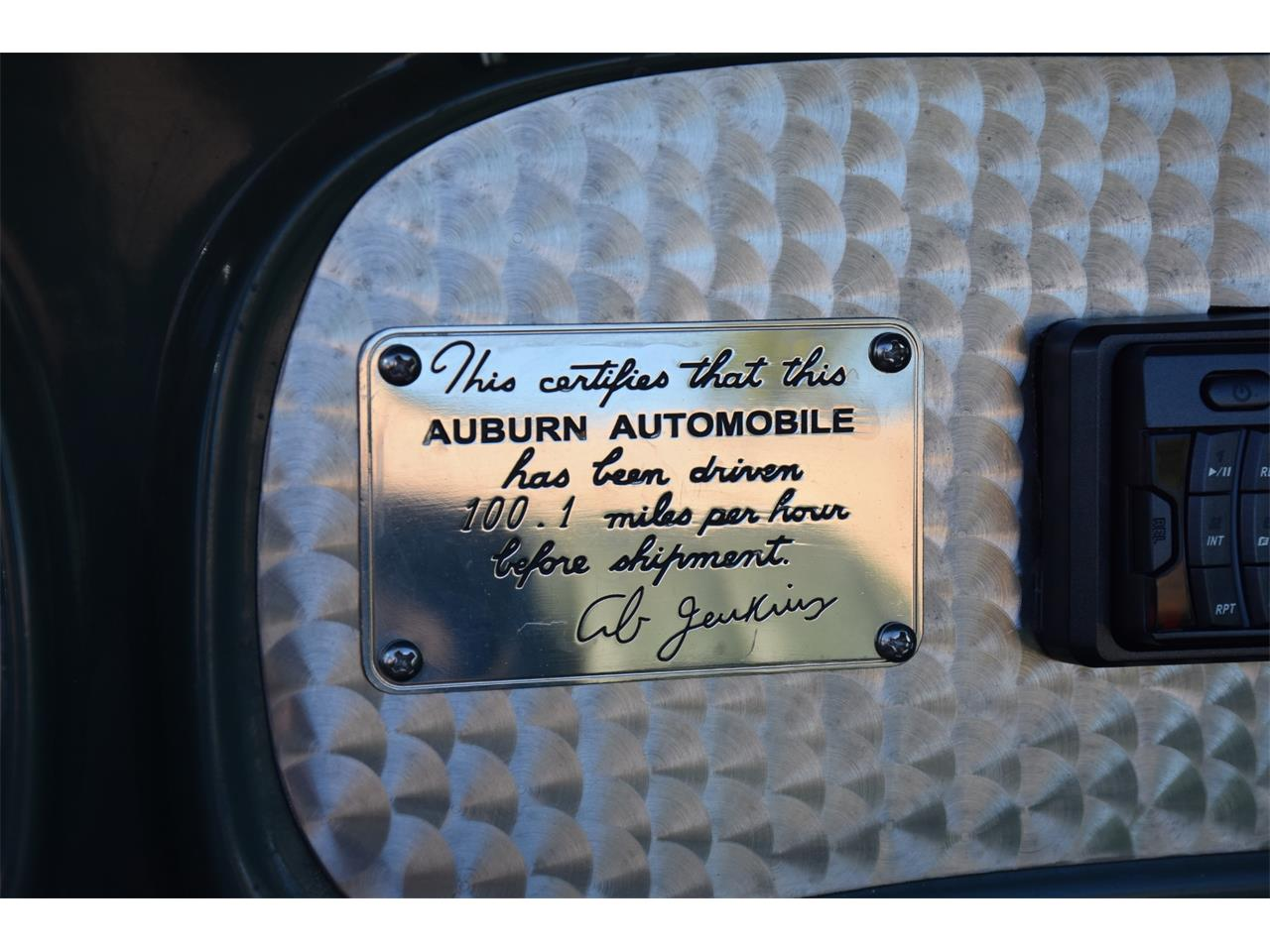 Large Picture of 1935 Auburn Boattail located in Venice Florida Auction Vehicle - MC9J