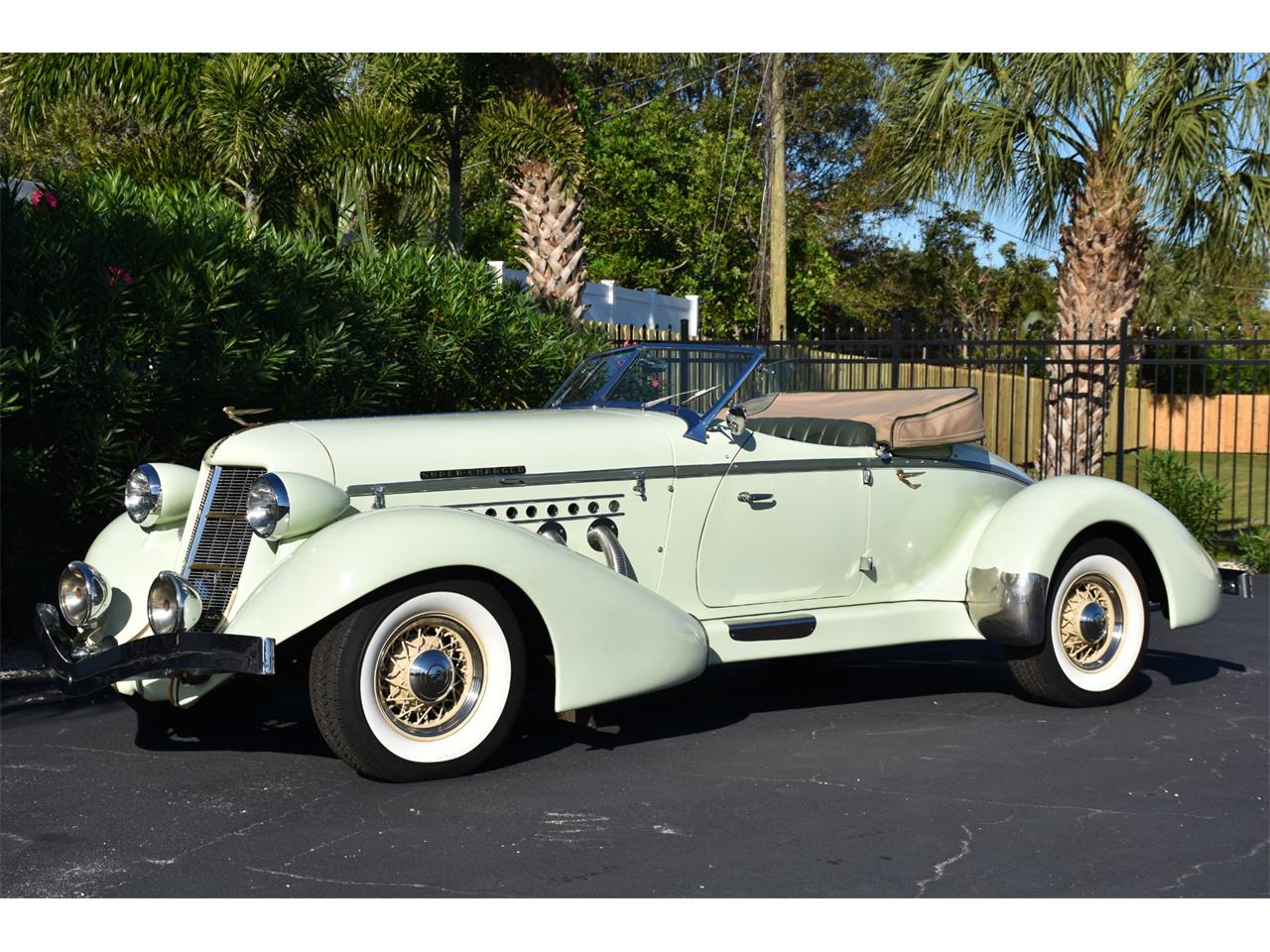 Large Picture of Classic '35 Auburn Boattail Auction Vehicle Offered by Ideal Classic Cars - MC9J